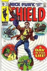 Nick Fury and His Agents of S.H.I.E.L.D. #14(Feb-73) VF/NM- High-Grade Nick F...