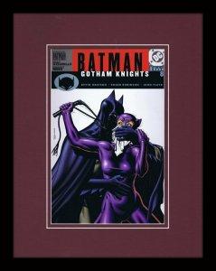 Batman Gotham Knights #8 Framed 11x14 Repro Cover Display DC Comics Catwoman