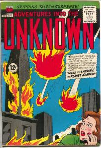 Adventures Into The Unknown #151 1964-ACG-fireballs-Ogden Whitney-FN+