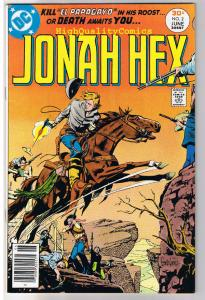 JONAH HEX #2, VF/NM, Scar face, Western, Parrot ,1977, more JH in store