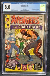 Avengers #22 (Marvel, 1965) CGC 8.0