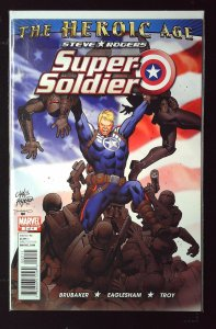 Steve Rogers: Super Soldier #2 (2010)