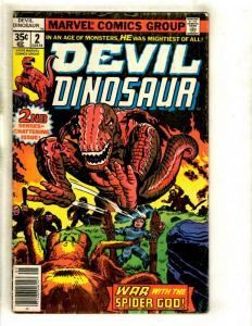 5 Comics Devil Dinosaur #2 Marvel Classics #19 Team-Up #29 139 Kung Fu #84 JL36