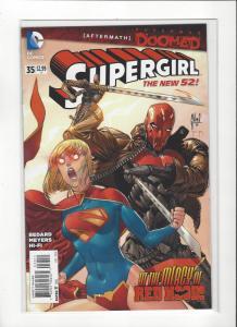 Supergirl #35 VS. Red Hood New 52 NM