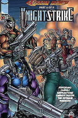 Knightstrike #1 VF; Image   save on shipping - details inside