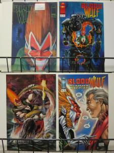 BLOODWULF (1995 IM) 1(GREEN LOGO),2-3,SP  LIEFELD