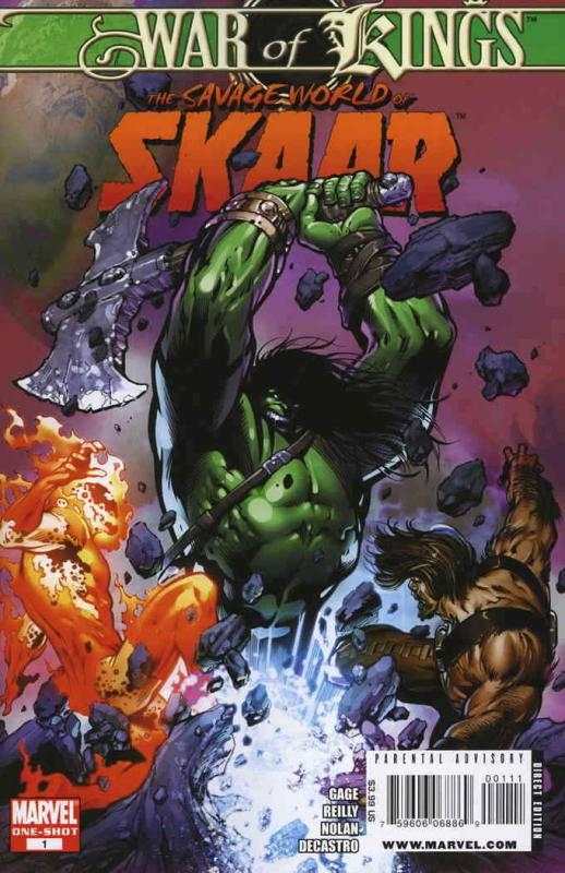 War of Kings: Savage World of Skaar One-Shot #1 VF/NM; Marvel | save on shipping