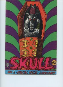 SKULL #4 / Only Printing / May 1972 / 36 pages / Last Gasp Eco-Funnies
