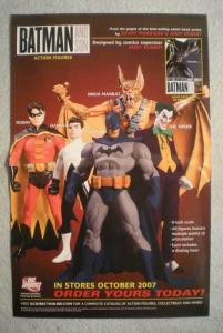 BATMAN AND SONS Promo Poster, 11x17, 2007, Unused, more in our store