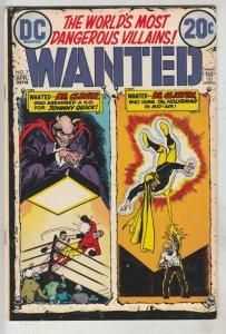 Wanted #7 (Apr-73) VF High-Grade Hourman, Johnny Quick