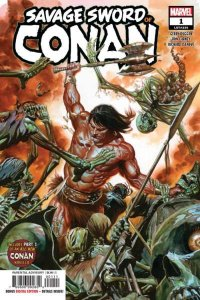 Savage Sword of Conan (2019 series) #1, NM + (Stock photo)