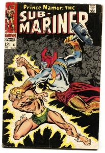 Sub-mariner #4 1968-marvel Comic Silver-Age VG-