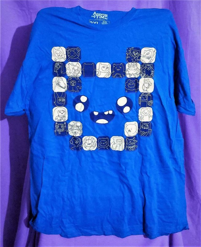 Loot Crate Exclusive ADVENTURE TIME FINN T-Shirt 2XL (Loot Crate)!