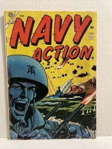Navy Action #1 1954 Russ Heath Cover