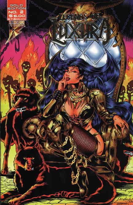 Legends of Luxura #2GOLD VF/NM; Brainstorm | save on shipping - details inside