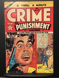 Crime and Punishment #45 (1951) Fair/Good 1.5 Hophead Killer Drug Story