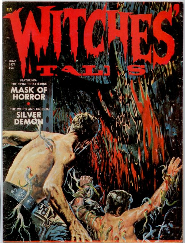 Witches Tales V3 #3  NICE MID-GRADE HORROR MAGAZINE