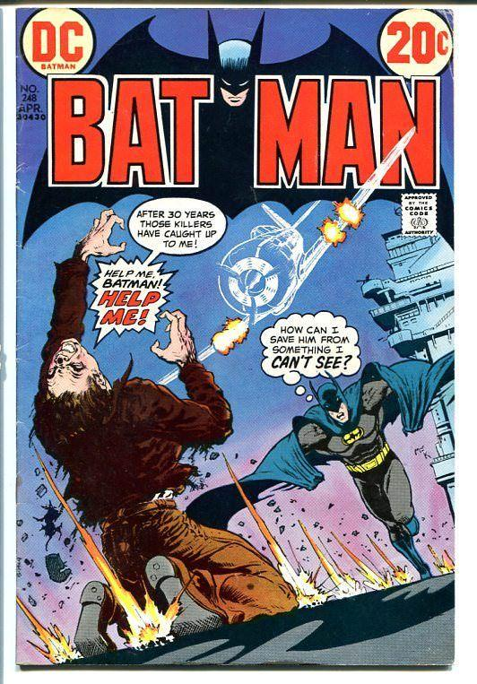BATMAN #248 1973 DC COMICS MIKE KALUTA HORROR cvr FN-
