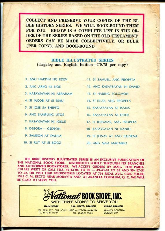 Raha Matanda 1960's-Phillippines edition-violent decapatation-VG