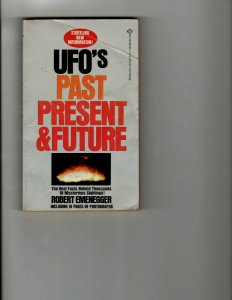 3 Books UFO's Past Present and Future Three Gold Crowns Stone Cold Dead JK13