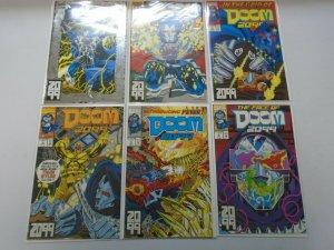 Doom 2099 run #1-12 8.0 VF (1993)