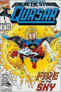 Marvel QUASAR #34 NM