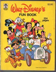 Walt Disney's Fun Book 1981-Merrigold Press-Uncle Scrooge-Mickey-Snow White-FN