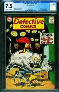 Detective #311-CGC 7.5-First Cat-Man and Zook-Batman 2039573003