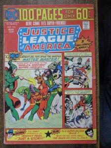 JUSTICE LEAGUE OF AMERICA 116 G April 1975 COMICS BOOK
