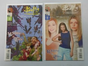 Buffy the Vampire Slayer Willow and Tara Wilderness set #1A + 2B 6.0 FN (2002)