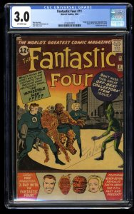 Fantastic Four #11 CGC GD/VG 3.0 Off White Marvel Comics