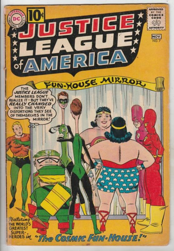 Justice League of America #7 (Nov-61) VG+ Affordable-Grade Justice League of ...