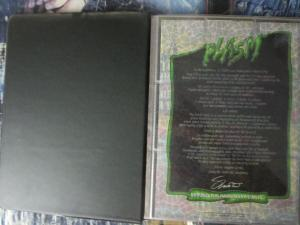 Defiant #0 PLASM Binder (w/ 140 cards + full-page sheets) & SPLATTERBALL