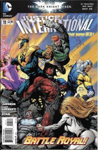 Justice League International The New 52 #11