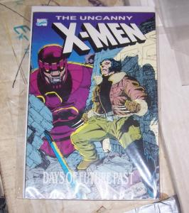 days of future past # 1 uncanny x men 141-142 TPB 1989 MARVEL