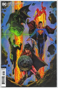 Justice League #50 Charest Variant (DC, 2020) VF/NM