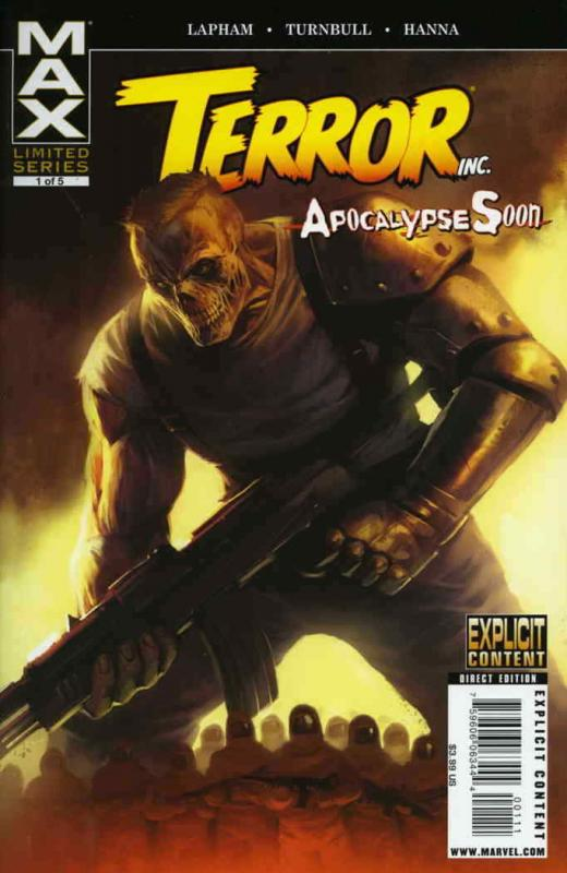 Terror, Inc.—Apocalypse Soon #1 VF/NM; Marvel | save on shipping - details insid