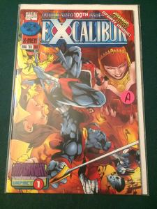 Excalibur #100 Double-Sized 100th Issue!! Onslaught