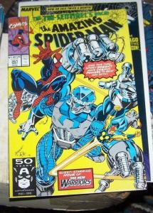 Amazing Spider-Man # 351 (Sep 1991, Marvel) new warriors nova