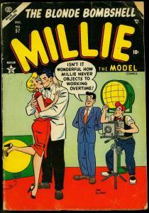 Millie the Model #57 1954- Decarlo- Paperdolls- Spicy Atlas G/VG