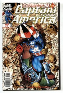 Captain America #8-1998 First appearance of BRON CHAR NM-