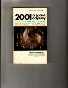 4 Pocket Books 2001 Space Odyssey, Doc Savage, Dearest Debbie Woman At Well JL21