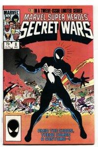 Secret Wars #8-1st Black Costume Spider-Man NM-