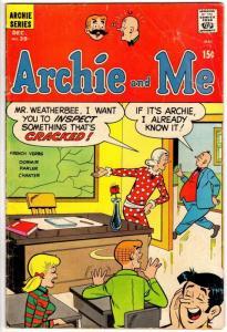 ARCHIE & ME (1964-1987) 39 VG-  Dec. 1970