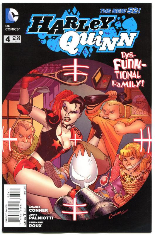 HARLEY QUINN #4, NM, New 52, Amanda Conner, Palmiotti, 2014,  more HQ in store