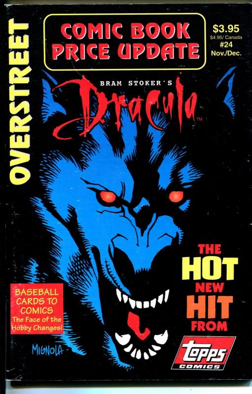 Overstreet Comic Book Price Update #24 1992-comic book value updates-VG/FN