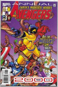 Avengers (vol. 3, 1998) Annual 2000 VF/NM Busiek/Breyfogle/Howell, Hellcat