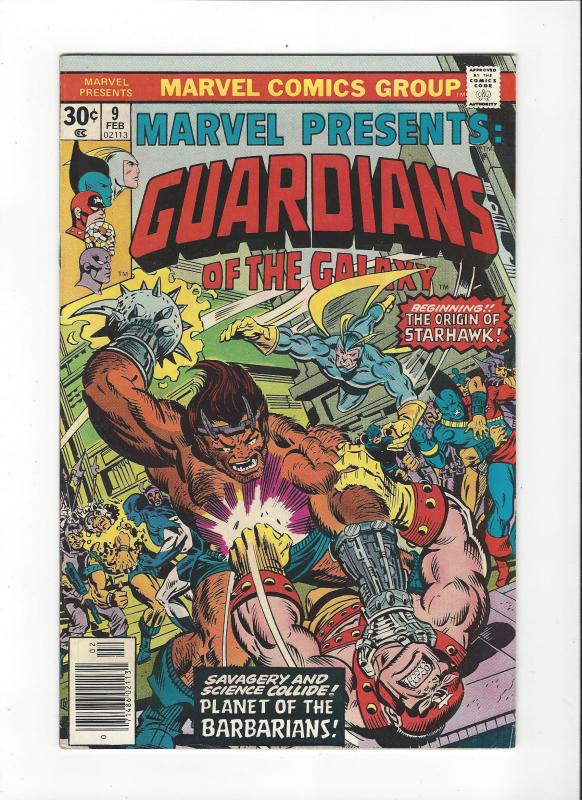 MARVEL PRESENTS #9 GUARDIANS OF THE GALAXY VF