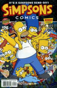 Simpsons Comics #245 VF/NM; Bongo | save on shipping - details inside