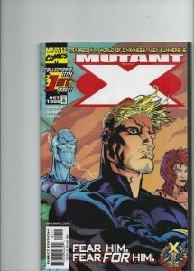 Mutant X collectores item 1St issue